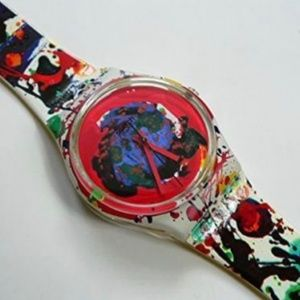 1992 Art Swatch Watch SAM FRANCIS Limited Edition